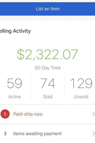 Declutter and Sell (I Started Making $1,000/Month!)