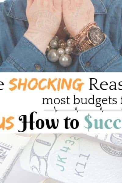 The Shocking Reason Most People Fail at Budgeting