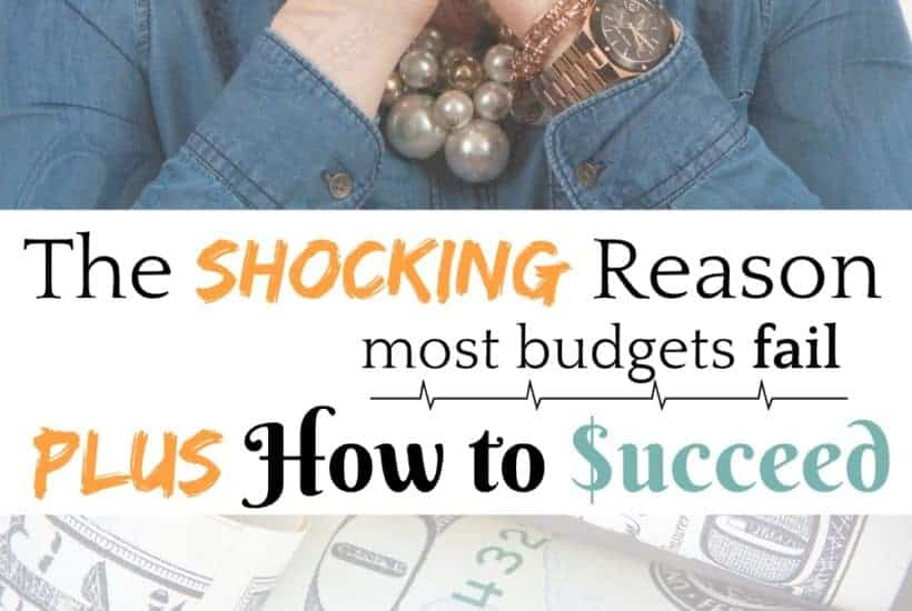 The Shocking Reason Most Budgets Fail ...Plus How to Succeed