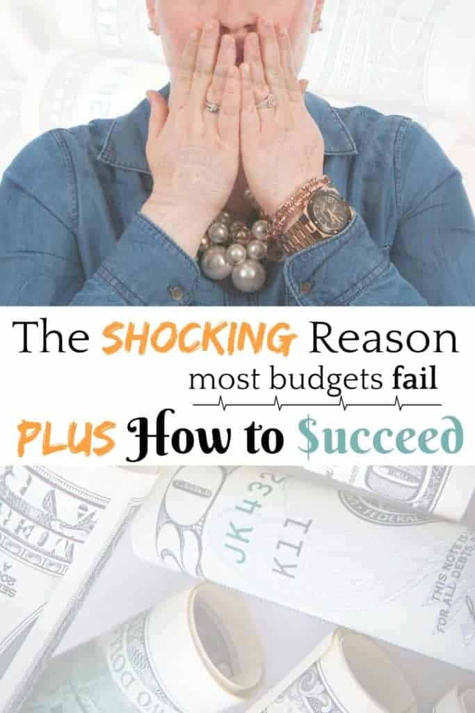 The Shocking Reasons Most Budgets Fail...Plus How to Succeed