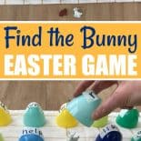 An Easter egg game played by hiding a bunny