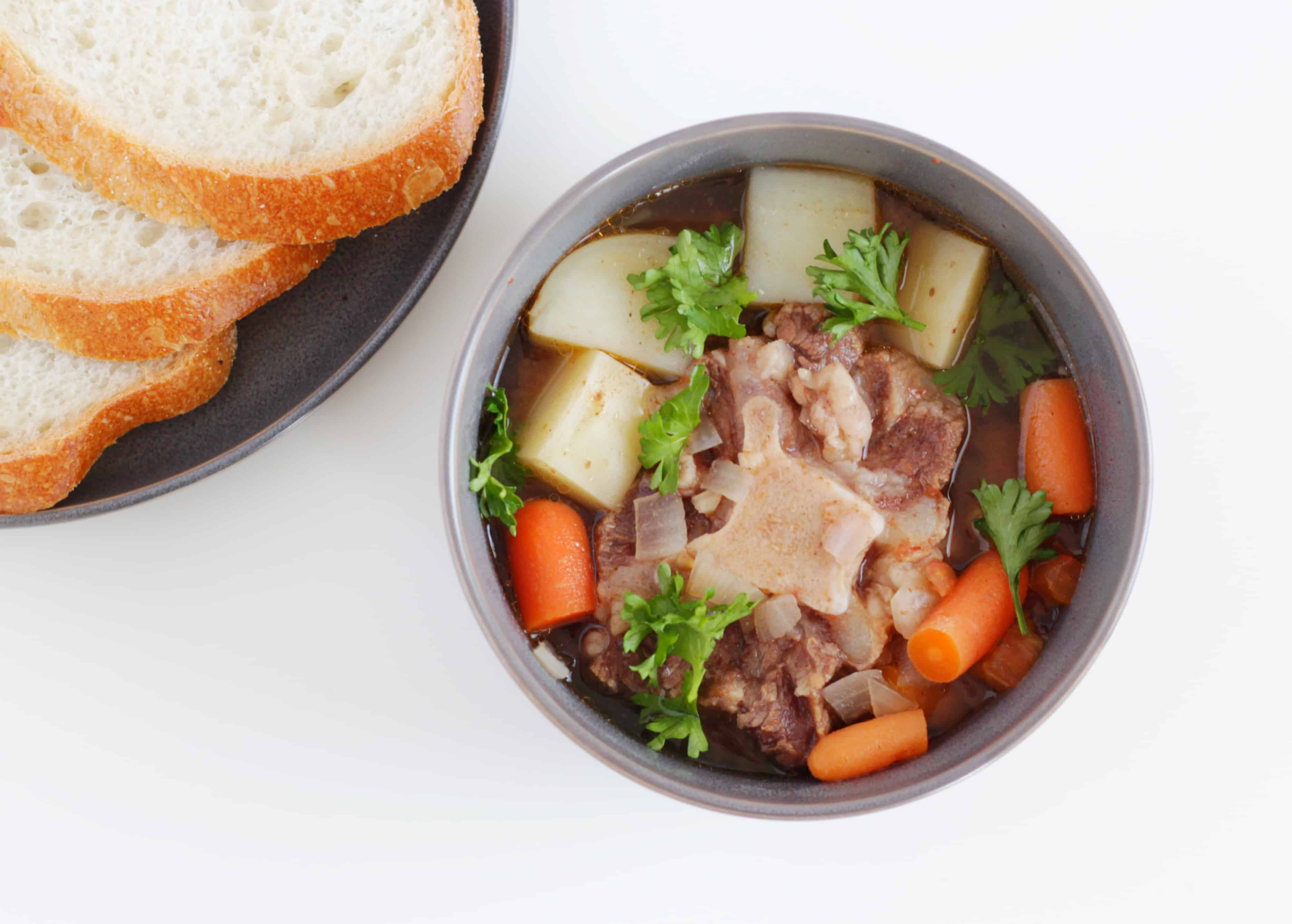 Nothing says comfort food like a soup or stew, made with bone broth! I've got a bunch of low-carb keto stews and soups to help you fuel with fat this winter.