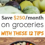 Save $250/month on groceries