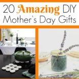 Collection of DIY Mother's Day gifts
