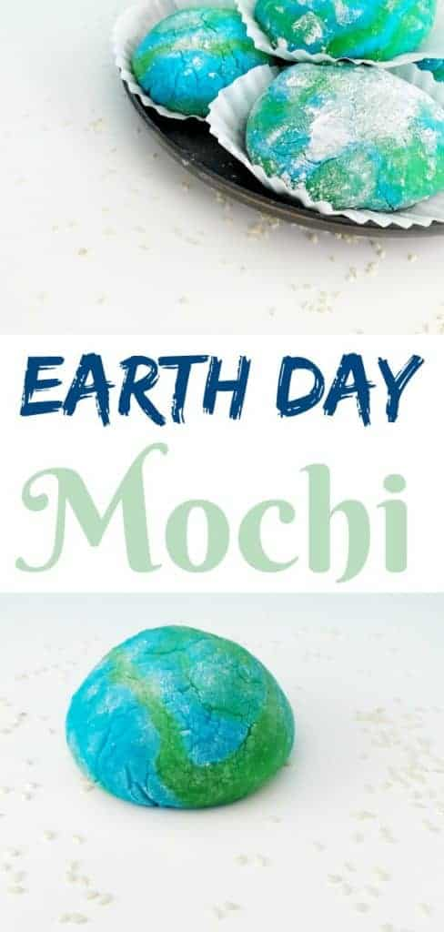 Earth Day Mochi recipe