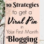 Instructions to go viral on Pinterest
