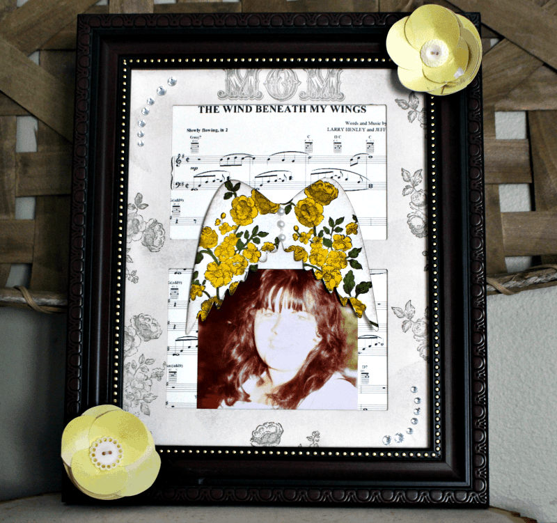 Memory frame for mother's who have passed away