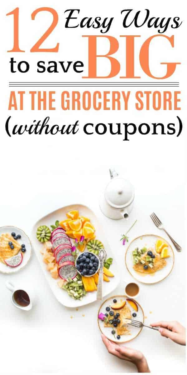 Program to save money on groceries without coupons