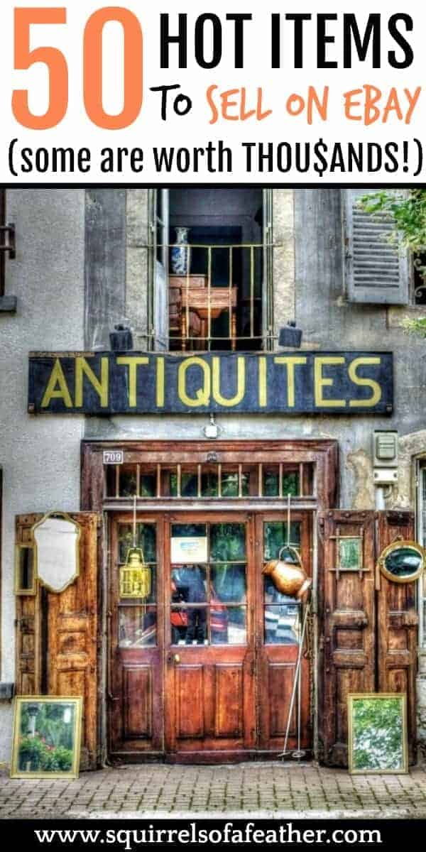 An antiques shop where you can sell things