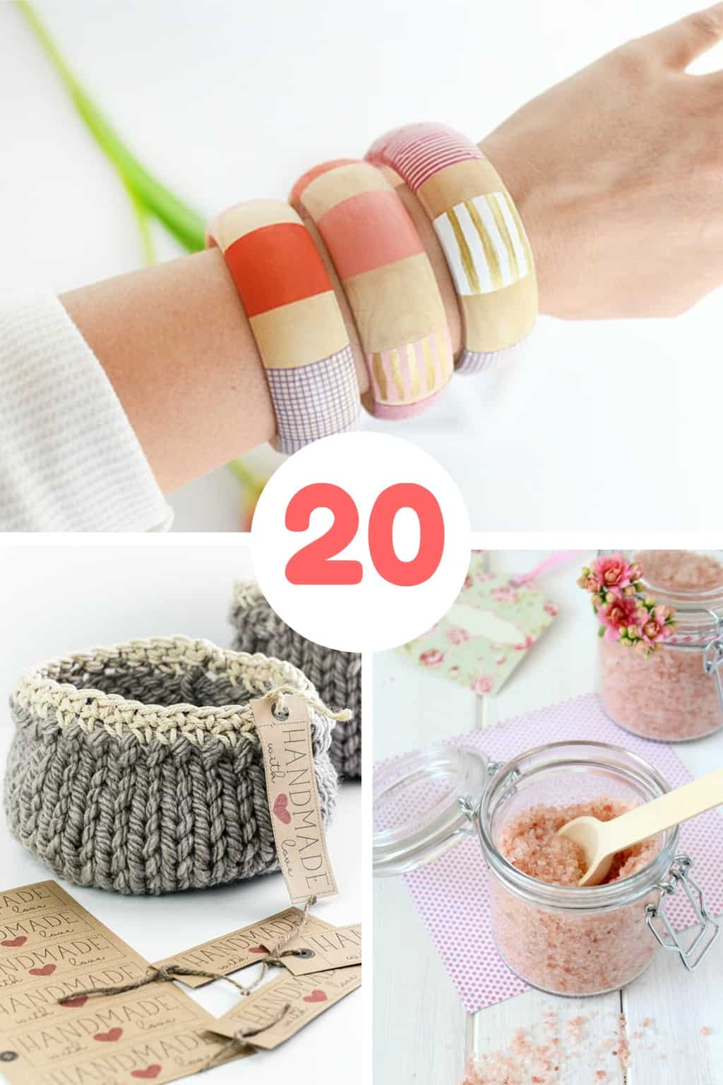 Three lovely DIY mother's day gifts