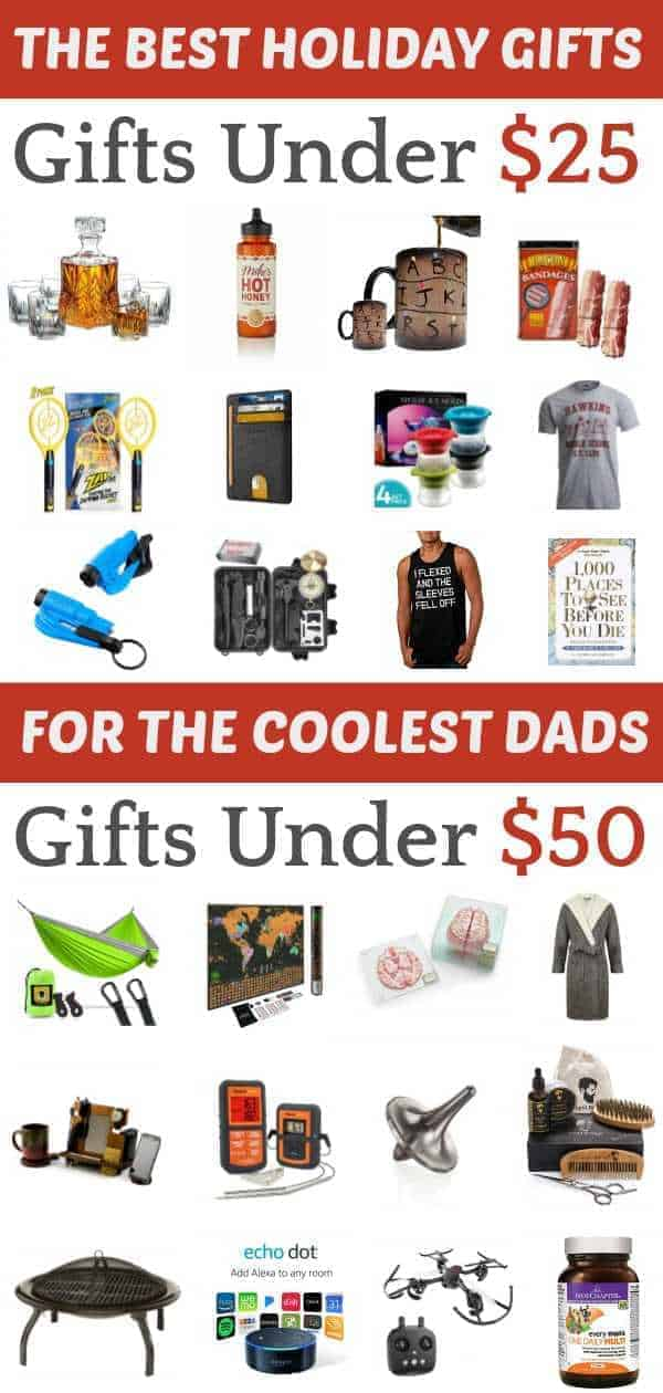 A list of affordable holiday gifts for dads