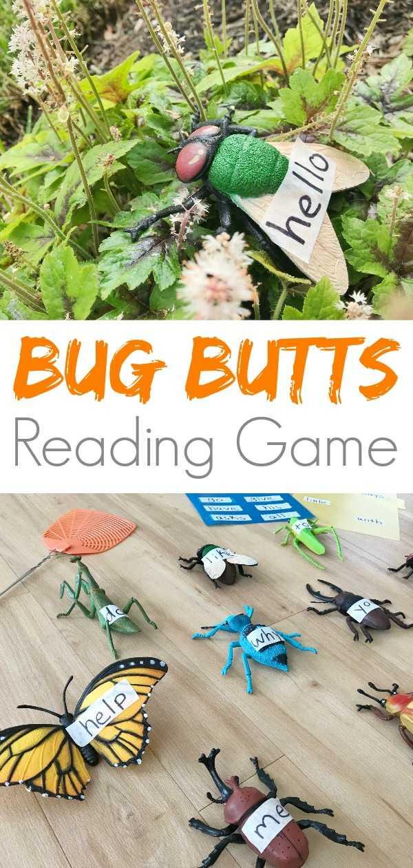 Giant plastic bugs