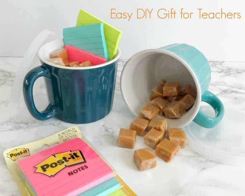 Easy Diy Teacher Gift Takes 5 Minutes To Make And Costs Under 10