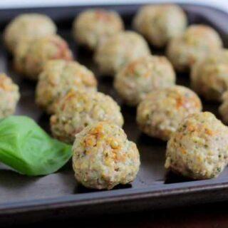Kid-Friendly Hidden Vegetable Baked Meatballs