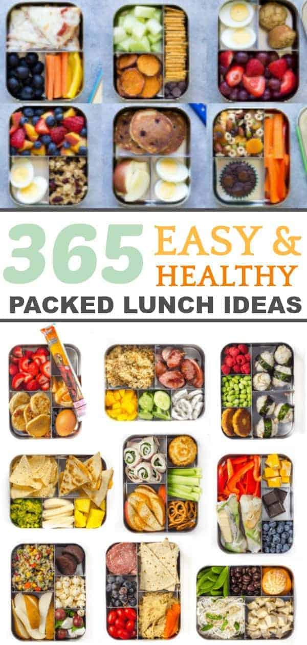 A collection of 365 lunch box ideas
