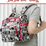 A clean JuJuBe Bff diaper bag