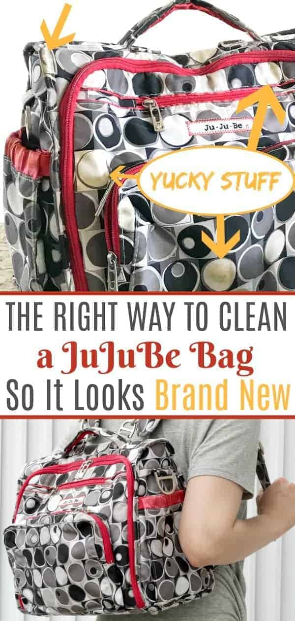 A clean JuJuBe Bff diaper bag