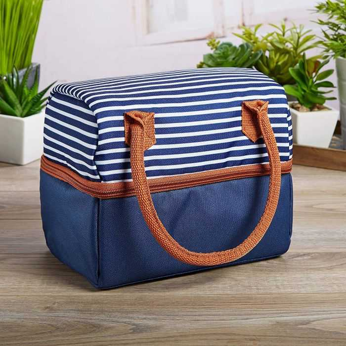 A nautical lunch box