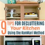 A kitchen declutter with the KonMari method