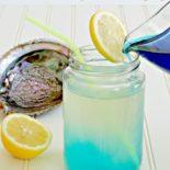 Pouring mermaid lemonade