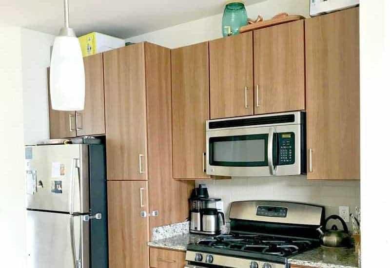 A kitchen organized with the KonMari Method