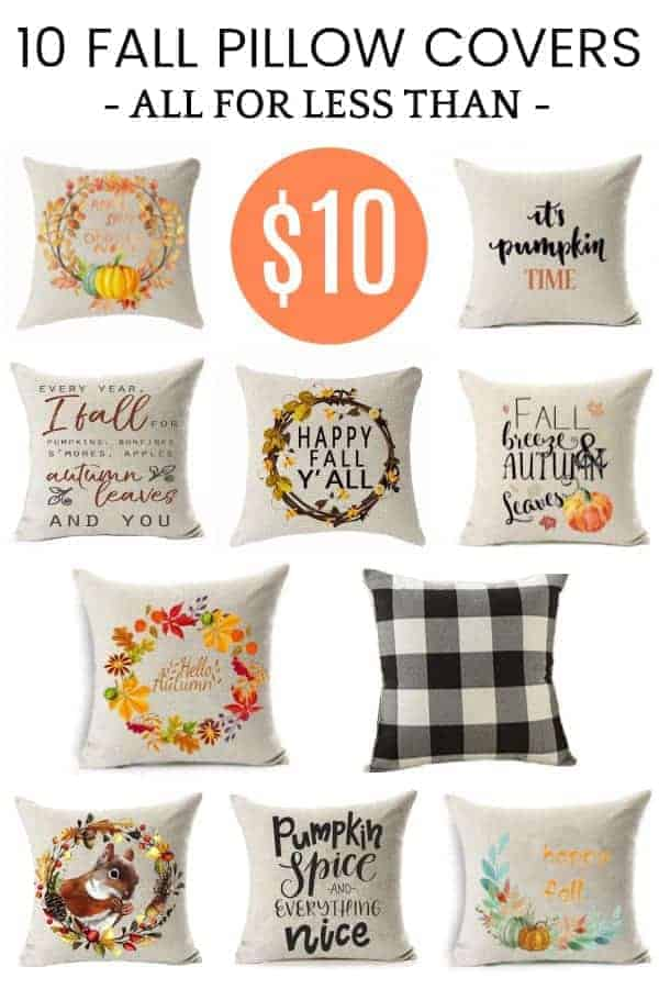A guide to choosing fall pillows