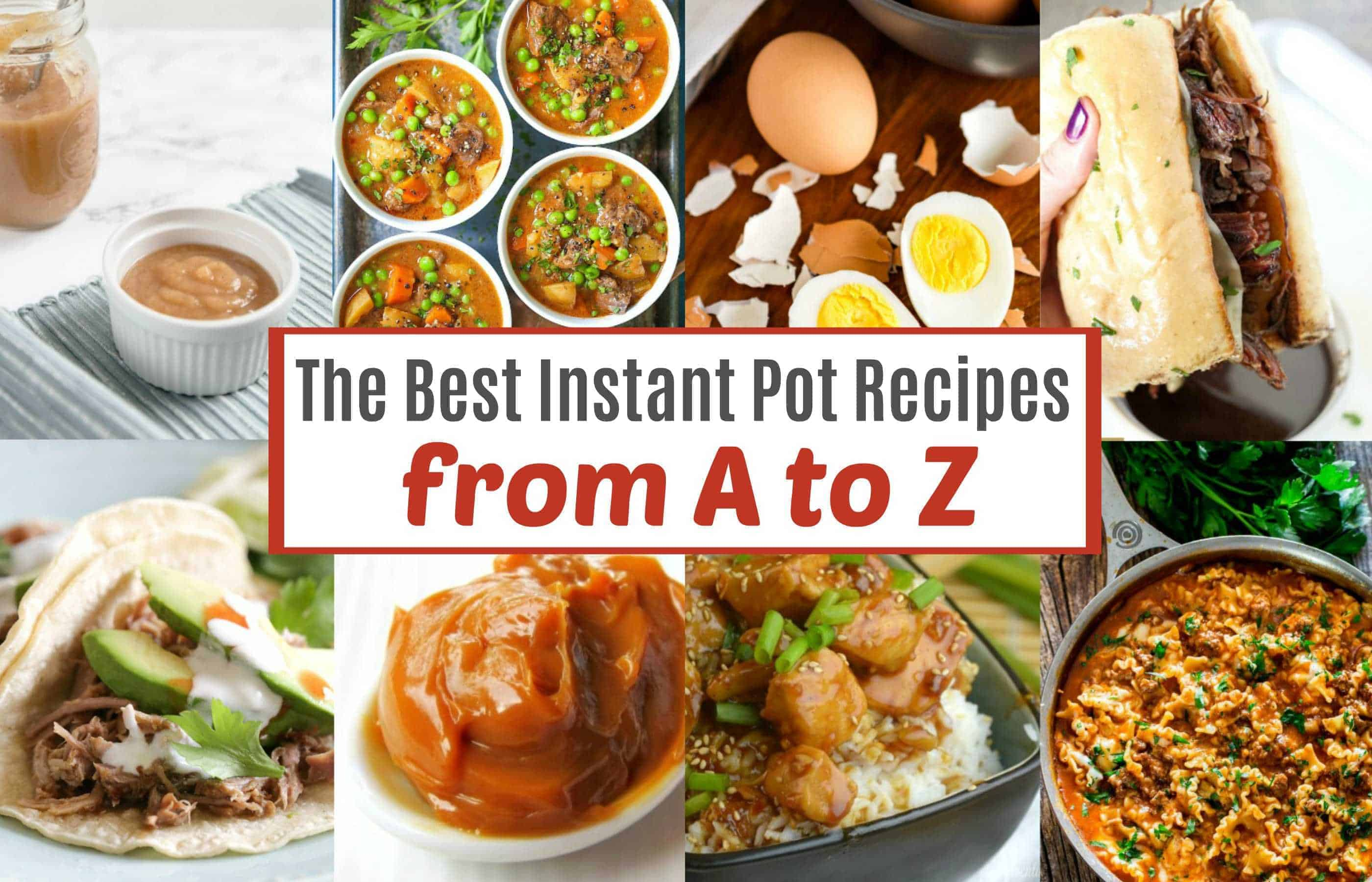 The best Instant Pot recipes on Pinterest