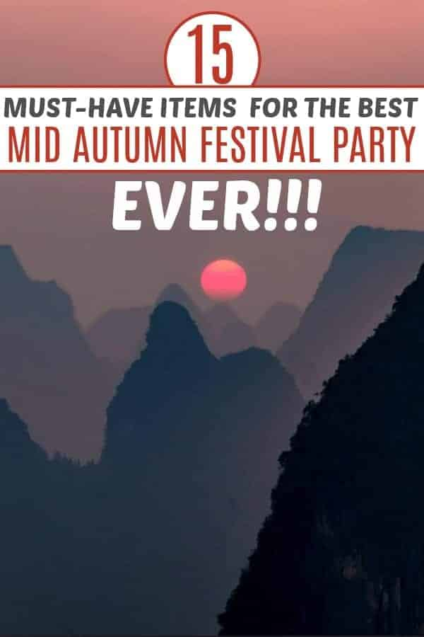 Best Mid Autumn Festival party ideas for family
