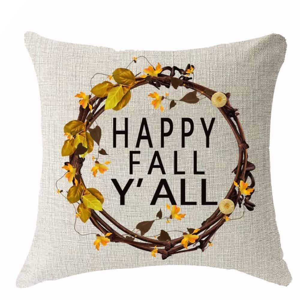 Happy Fall pillow cover