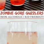A recipe for bloody zombie drinks