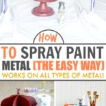 Guide on how to spray paint metal
