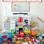 Guide to declutter toys with KonMari