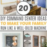 List of 20 DIY command centers
