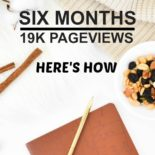 Report on how to hit 19k pageviews