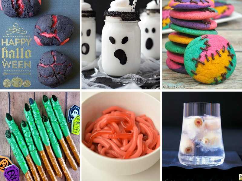 Six different recipes for Halloween