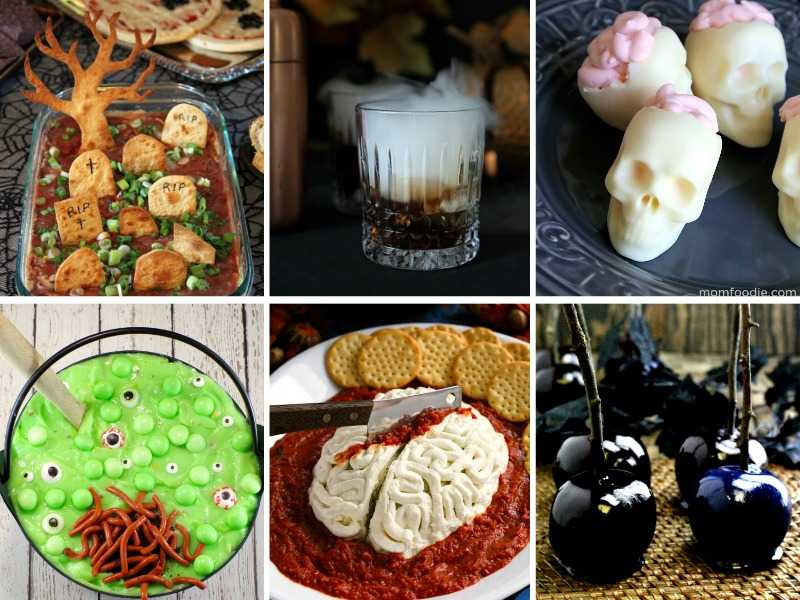 A batch of Halloween food ideas for party