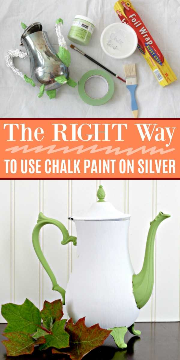 A guide on chalk painting silver