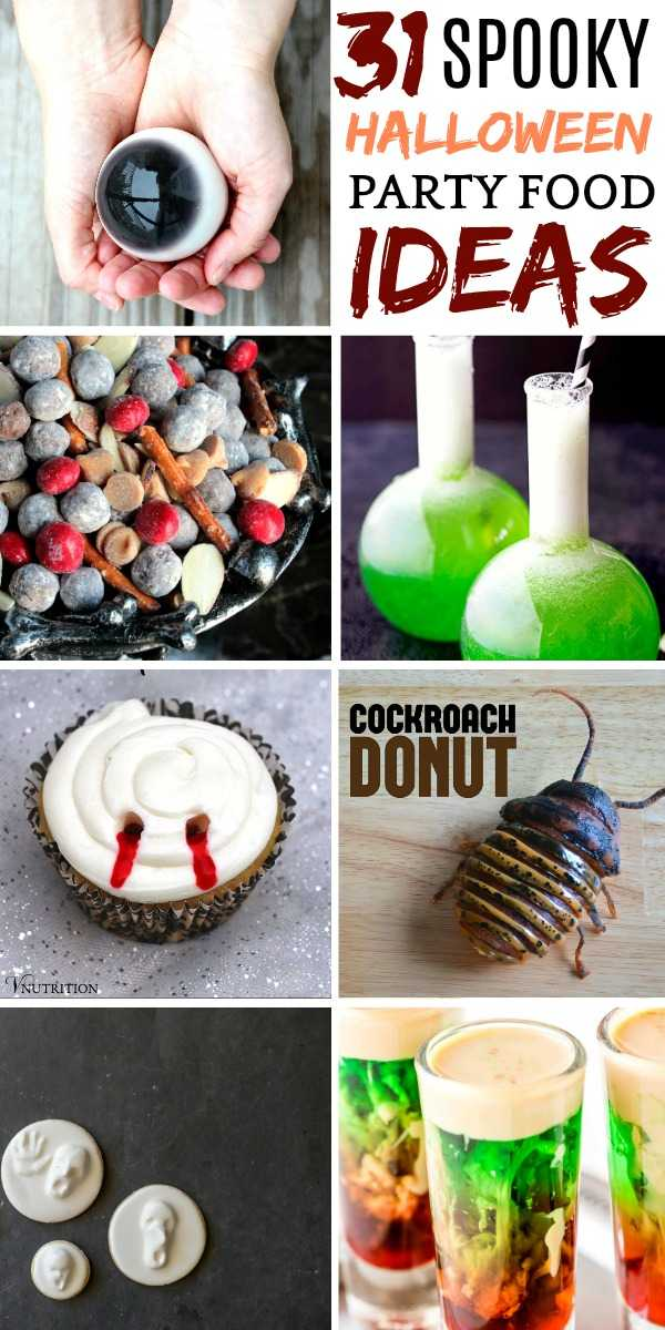 7 Halloween party recipes