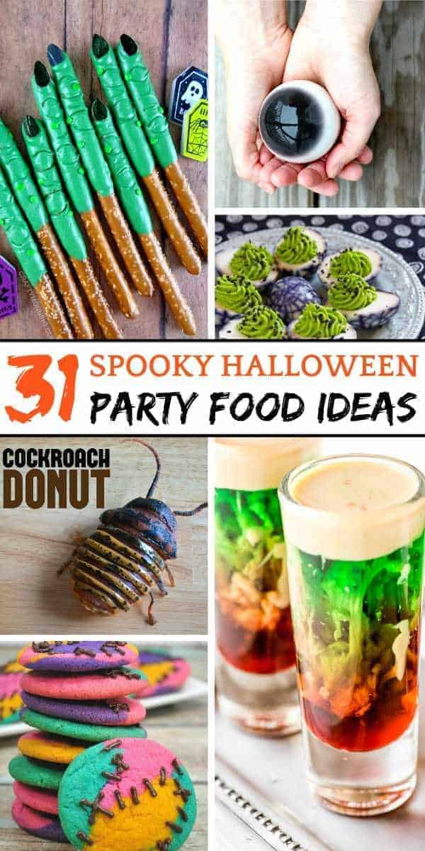31 Halloween food recipes - a collection