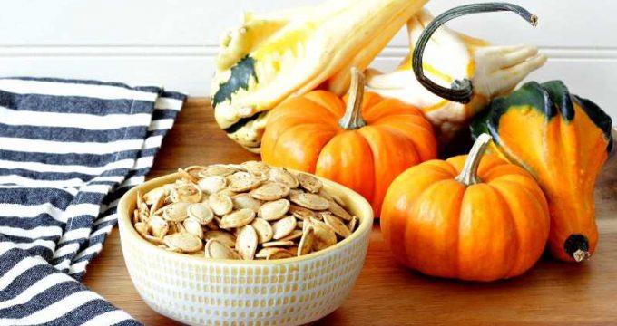 Easy Roasted Pumpkin Seeds
