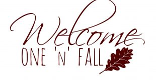 "Free ""Welcome One 'N' Fall"" Printable"