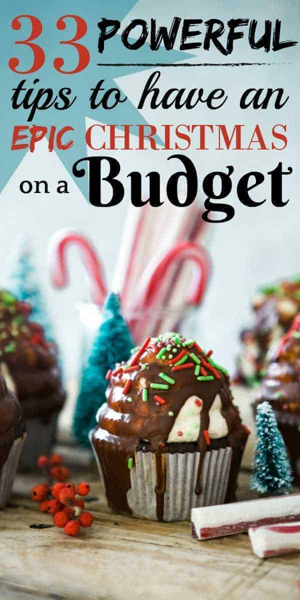 A list of Christmas on a budget ideas