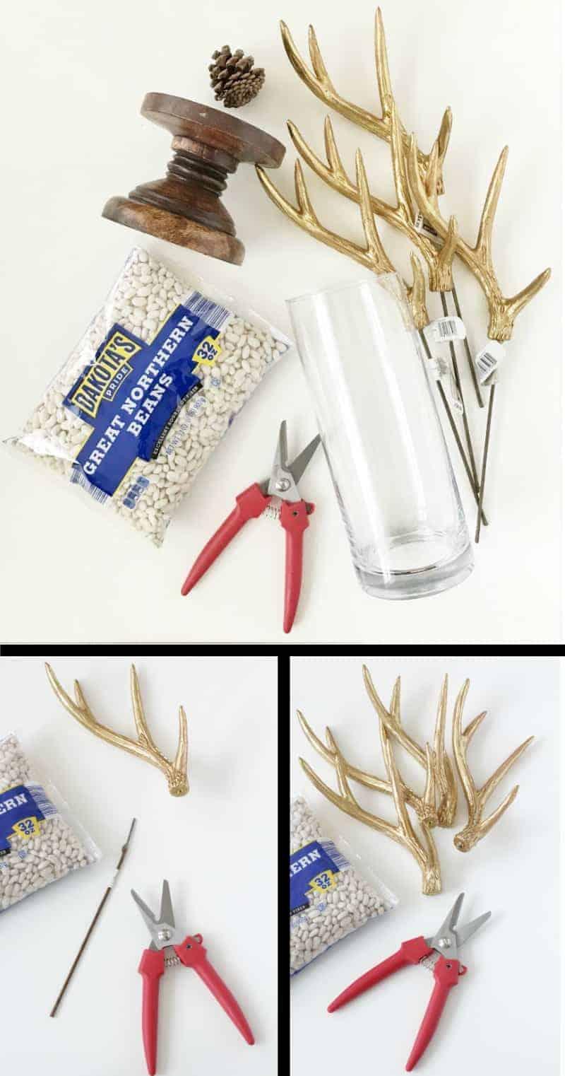 Steps to make a DIY Christmas centerpiece