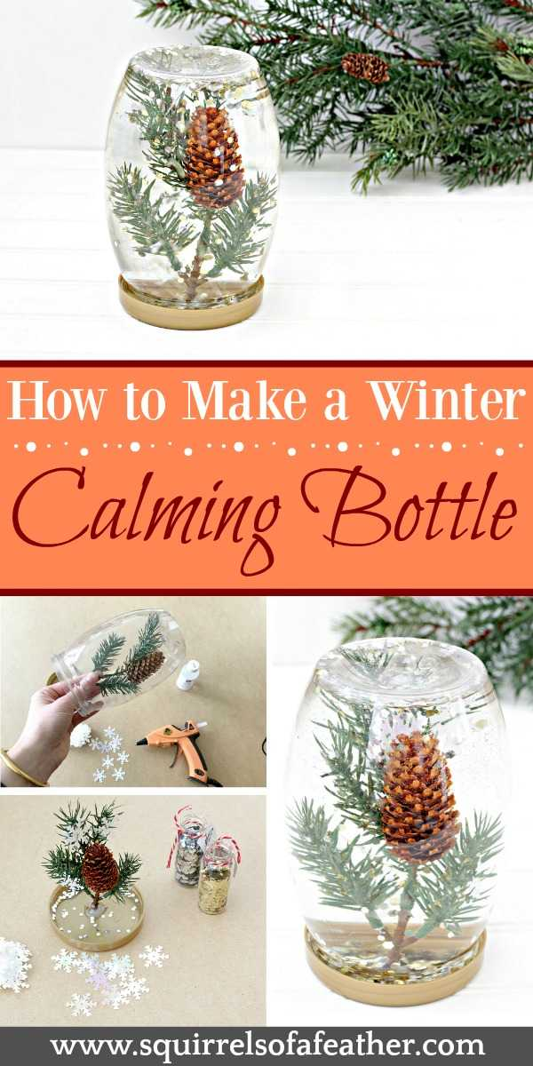 Steps to make calming bottle