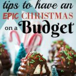 Beautiful budget Christmas food
