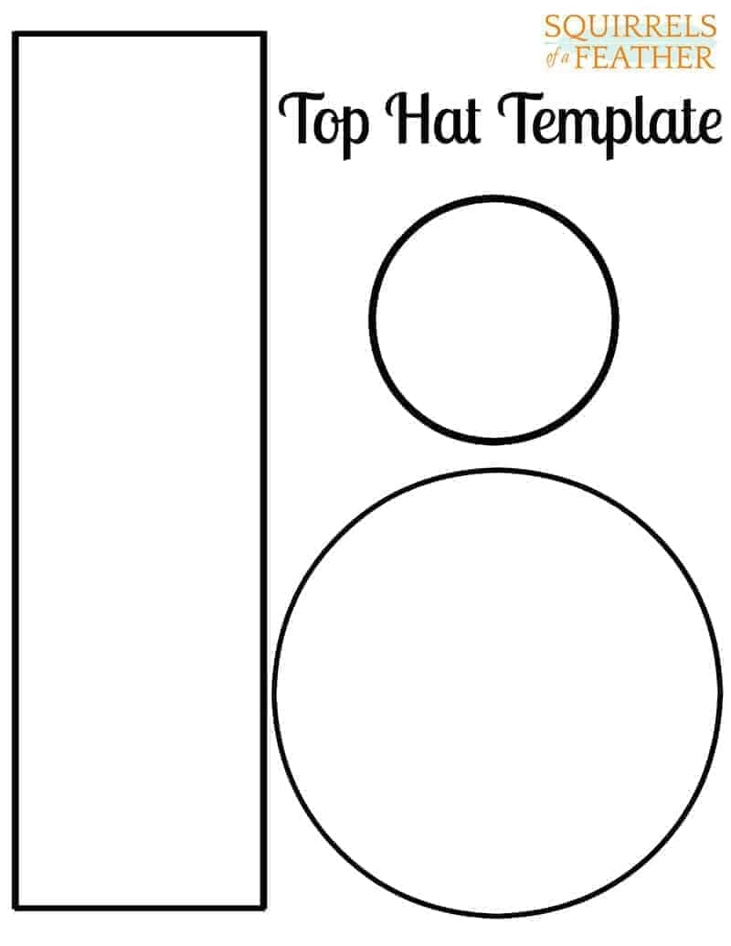 top hat template