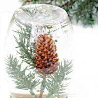 Lovely Winter Glitter Calming Bottle DIY