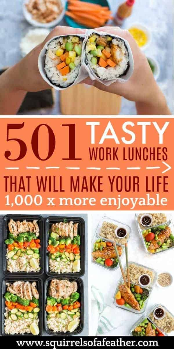 501 Work lunches with pictures