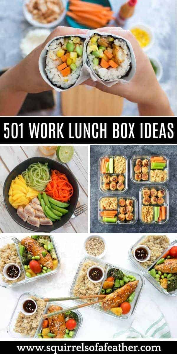 A image collection of work lunch box ideas