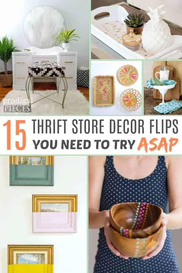 Thrift store decor flip ideas